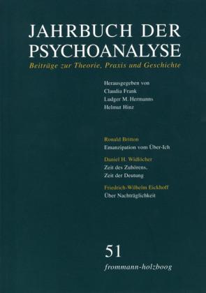 Jahrbuch der Psychoanalyse / Band 51