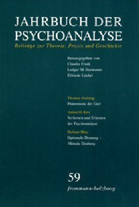 Jahrbuch der Psychoanalyse / Band 59