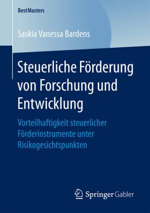 Steuerliche Förderung von Forschung und Entwicklung