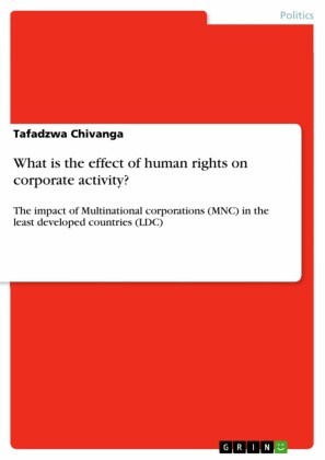 What is the effect of human rights on corporate activity?