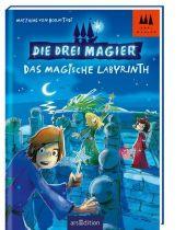 Die drei Magier - Das magische Labyrinth Cover