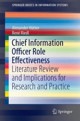 Chief Information Officer Role Effectiveness