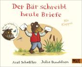 Der Bär schreibt heute Briefe Cover