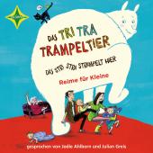 Das Tri Tra Trampeltier, das stri stra strampelt hier, 1 Audio-CD Cover