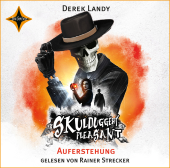 Skulduggery Pleasant - Auferstehung, 8 Audio-CDs