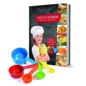 Kinderleichte Becherküche - Ofengerichte für die ganze Familie, m. Messbecher-Set 5-tlg.