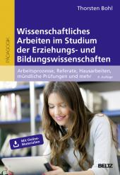 Wissenschaftliches Arbeiten im Studium der Erziehungs- und Bildungswissenschaften Cover