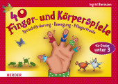 40 Finger- und Körperspiele für die Krippe Cover