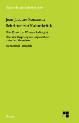 Schriften zur Kulturkritik