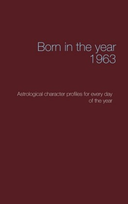 Born in the year 1963
