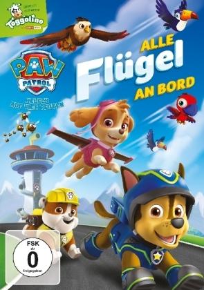 Paw Patrol: Alle Flügel an Bord, 1 DVD