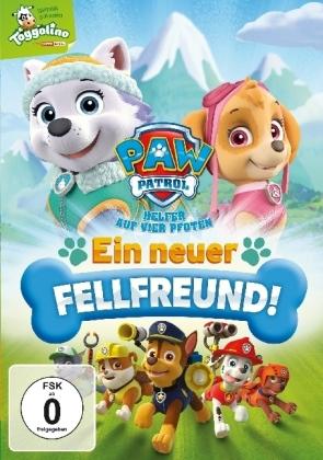 Paw Patrol - Ein neuer Fellfreund, 1 DVD