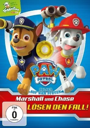 Paw Patrol - Marshall und Chase lösen den Fall!, 1 DVD