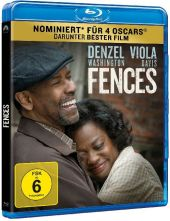 Fences, 1 Blu-ray Cover