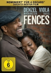 Fences, 1 DVD Cover