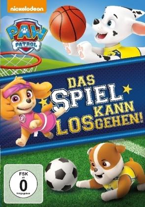 Paw Patrol: Das Spiel kann losgehen!, 1 DVD