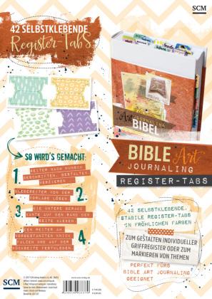 Bible Art Journaling Register-Tabs