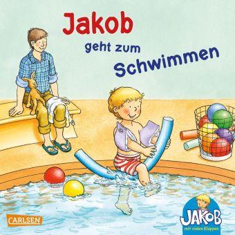 Jakob geht zum Schwimmen