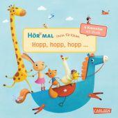 Hör mal: Verse für Kleine: Hopp, hopp, hopp ..., m. Soundeffekten Cover
