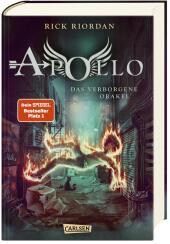 Die Abenteuer des Apollo: Das verborgene Orakel Cover