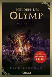 Helden des Olymp 3: Das Zeichen der Athene Cover