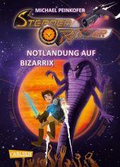 Sternenritter - Notlandung auf Bizarrix Cover