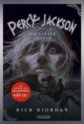 Percy Jackson - Die letzte Göttin Cover