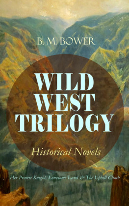WILD WEST TRILOGY - Historical Novels: Her Prairie Knight, Lonesome Land & The Uphill Climb