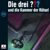 Die drei ??? und die Kammer der Rätsel, 1 Audio-CD Cover