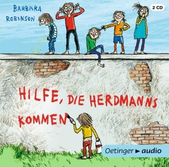 Hilfe, die Herdmanns kommen, 2 Audio-CDs