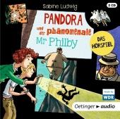 Pandora und der phänomenale Mr Philby, 2 Audio-CDs Cover