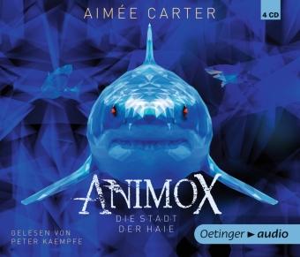 Animox 3. Die Stadt der Haie, 4 Audio-CD