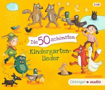 Die 50 schönsten Kindergartenlieder, 3 Audio-CDs