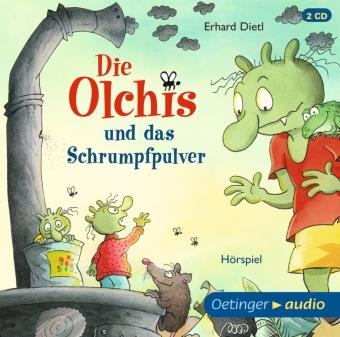 Die Olchis und das Schrumpfpulver, 2 Audio-CDs