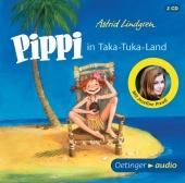 Pippi in Taka-Tuka-Land, 2 Audio-CDs Cover