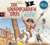 Die Unsinkbaren Drei - Die unglaublichen Abenteuer der besten Piraten der Welt, 1 Audio-CD Cover