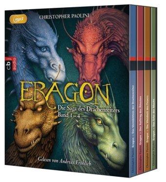 Eragon - Die Saga des Drachenreiters, 16 MP3-CDs