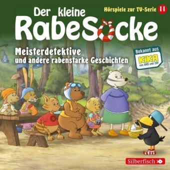 Der kleine Rabe Socke - Meisterdetektive und andere rabenstarke Geschichten, 1 Audio-CD
