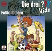 Die drei ??? Kids - Fußballhelden, 1 Audio-CD