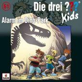 Die drei ??? Kids - Alarm im Dino-Park, 1 Audio-CD