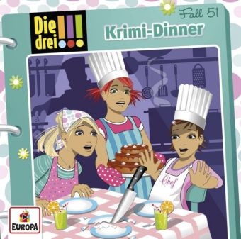 Die drei !!! - Krimi-Dinner, 1 Audio-CD