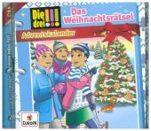 Die drei !!! - Das Weihnachtsrätsel, 1 Audio-CD Cover