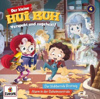 Der kleine Hui Buh - Der blubbernde Brotteig / Alarm in der Geheimzentrale