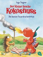 Der kleine Drache Kokosnuss - Die besten Feuerdrachenwitze Cover