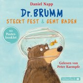 Dr. Brumm steckt fest / Dr. Brumm geht baden, 1 Audio-CD