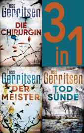 Rizzoli & Isles Band 1-3: - Die Chirurgin / Der Meister / Todsünde (3in1-Bundle)