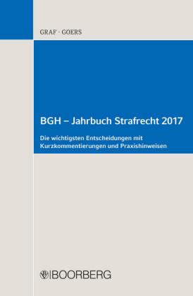 BGH - Jahrbuch Strafrecht 2017
