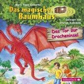 Das magische Baumhaus - Das Tor zur Dracheninsel, 1 Audio-CD Cover