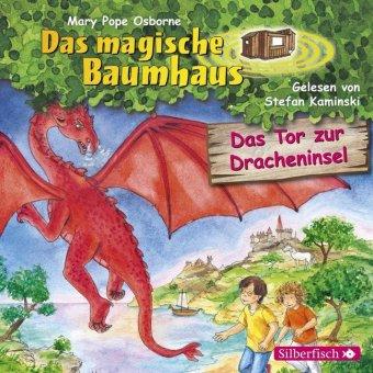 Das magische Baumhaus - Das Tor zur Dracheninsel, 1 Audio-CD