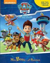 Paw Patrol, Spielbuch + 9 Figuren und 1 Spielmatte